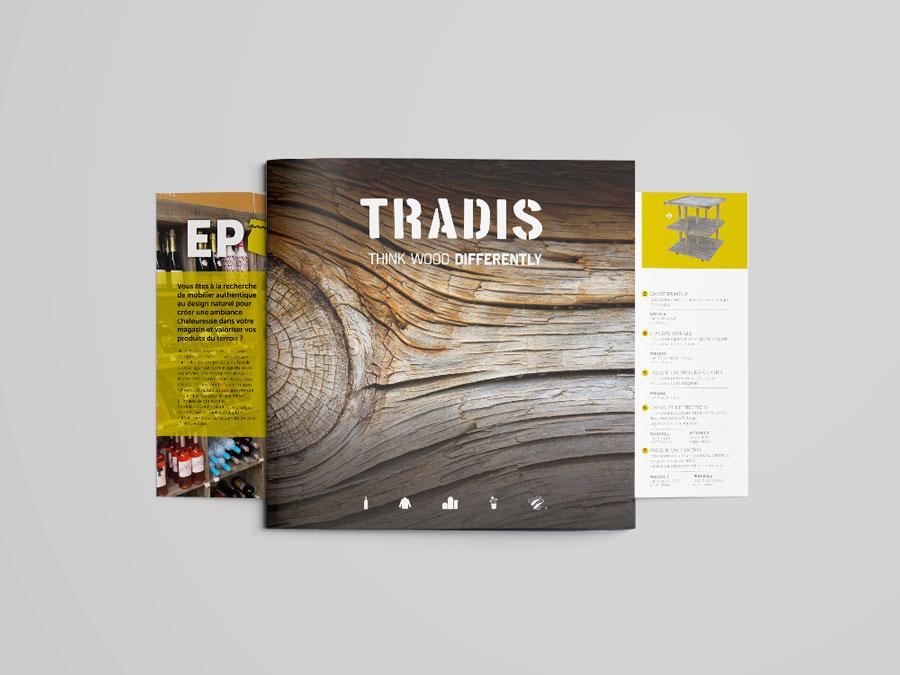 TRADIS-concepteur-mobiliers-d-agencement-bois-vieilli-brochure-48p-realisation-comwell