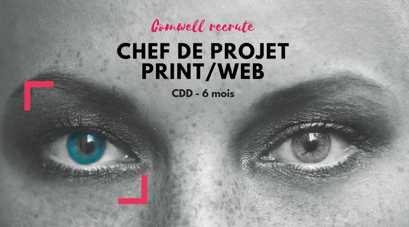 Comwell recrute un chef de projet print/web